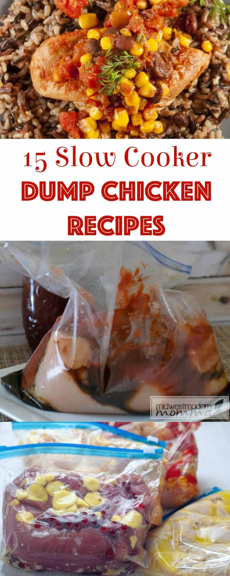 15 Crock Pot Dump Chicken Recipes